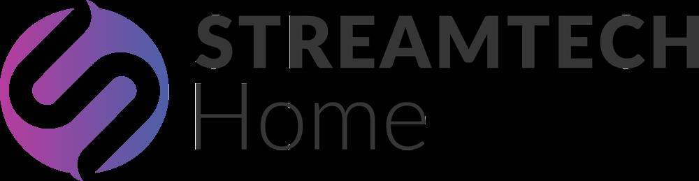 Streamtech fiber internet home logo