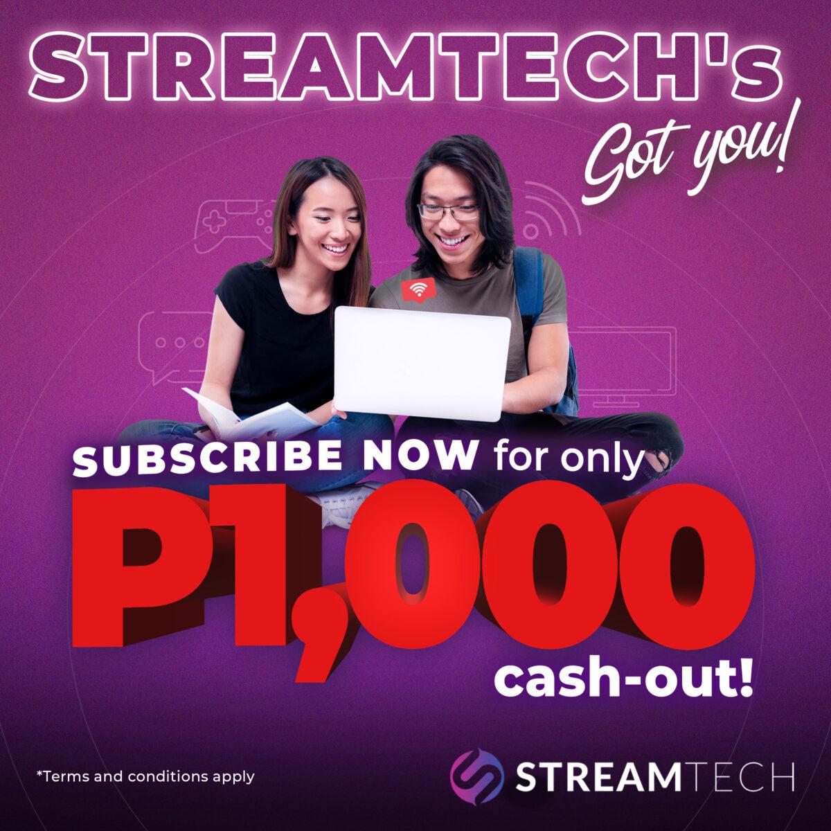 Streamtech Fiber Internet Got Your Back