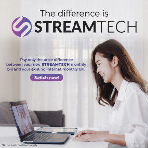 Switch to Streamtech Fiber Internet and Pay only the difference