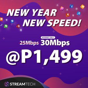 Streamtech Fiber Internet only