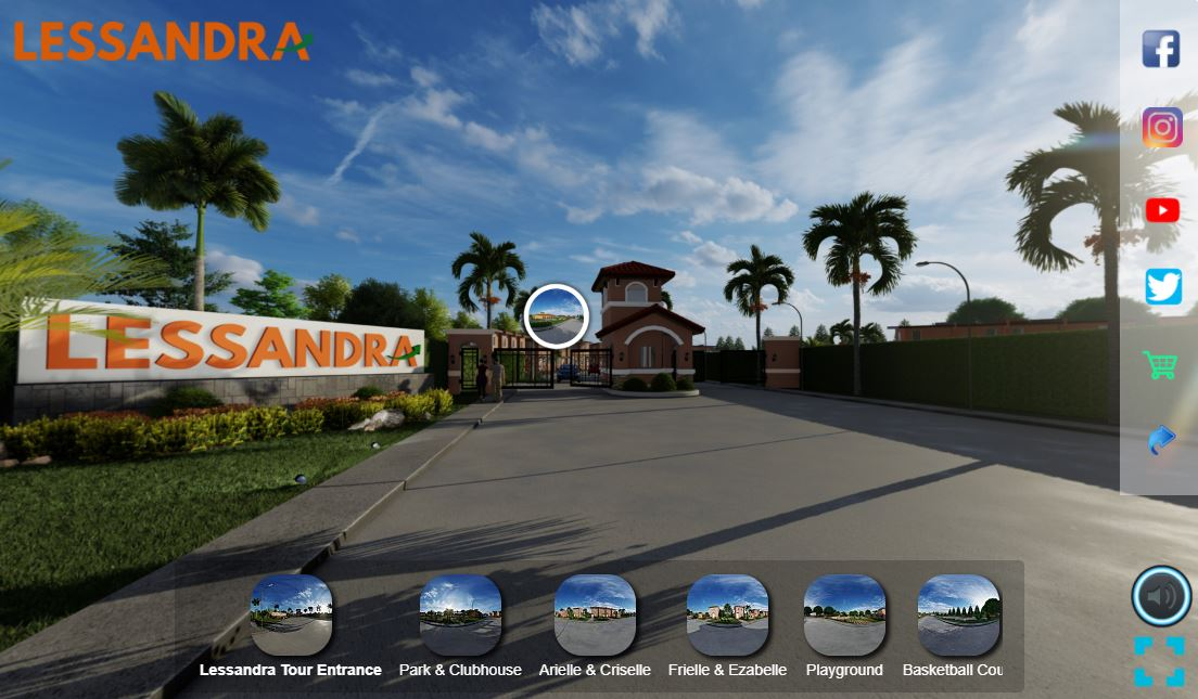 Access Lessandra's Virtual Tour with Streamtech's home wifi plan
