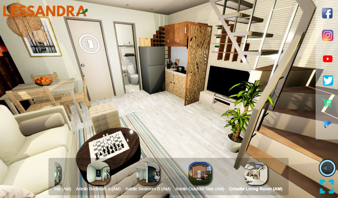 Access Lessandra's Virtual Tour Interior with Streamtech's home wifi plan