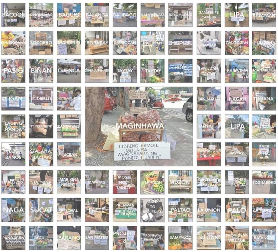 Community pantries in the Philippines - Streamtech - Fiber Internet