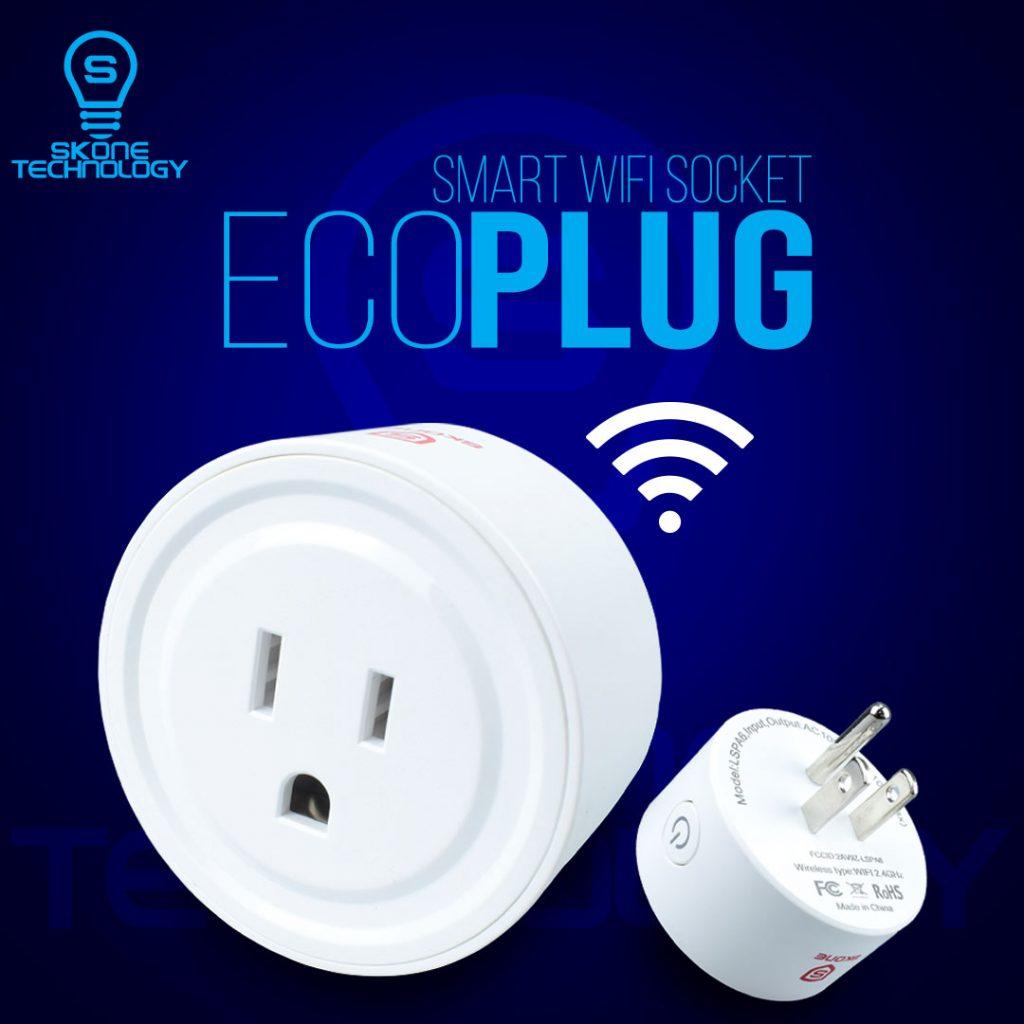 Ecoplug smart gadget - operate through Streamtech - fiber internet connection