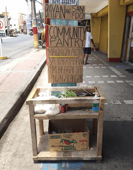 Pampanga community pantry - Streamtech - Fiber Internet