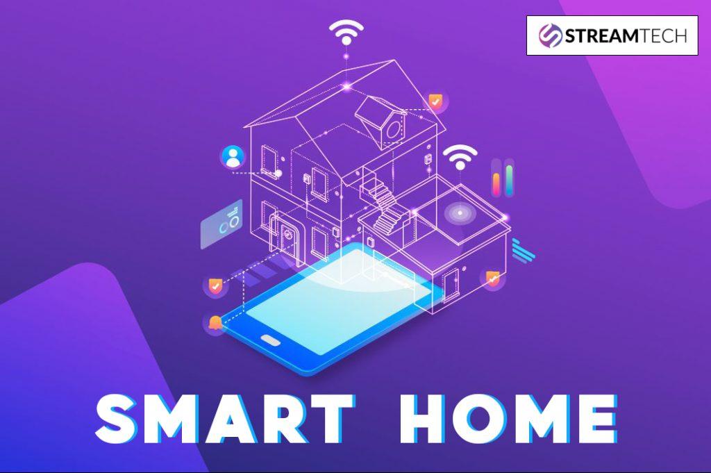 Smart home - Streamtech Fiber - internet connection