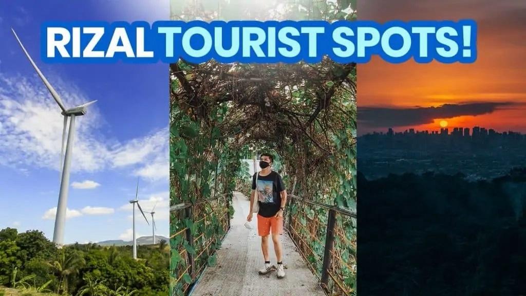 Rizal Tourist Spot - fiber internet in rizal