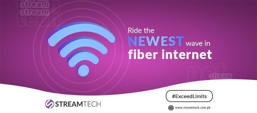 Streamtech - fiber internet - get with the bst ISP.