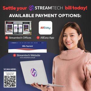Fiber internet bills payment options - streamtech