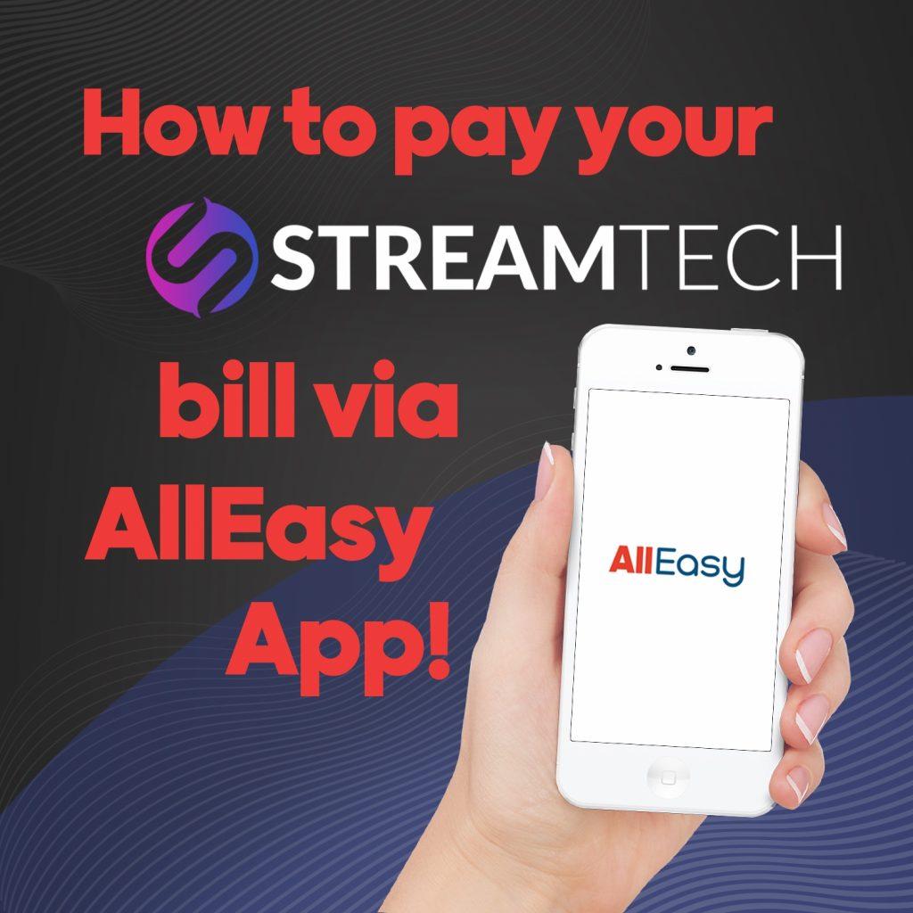 internet bills payment - fiber internet - streamtech - alleasy