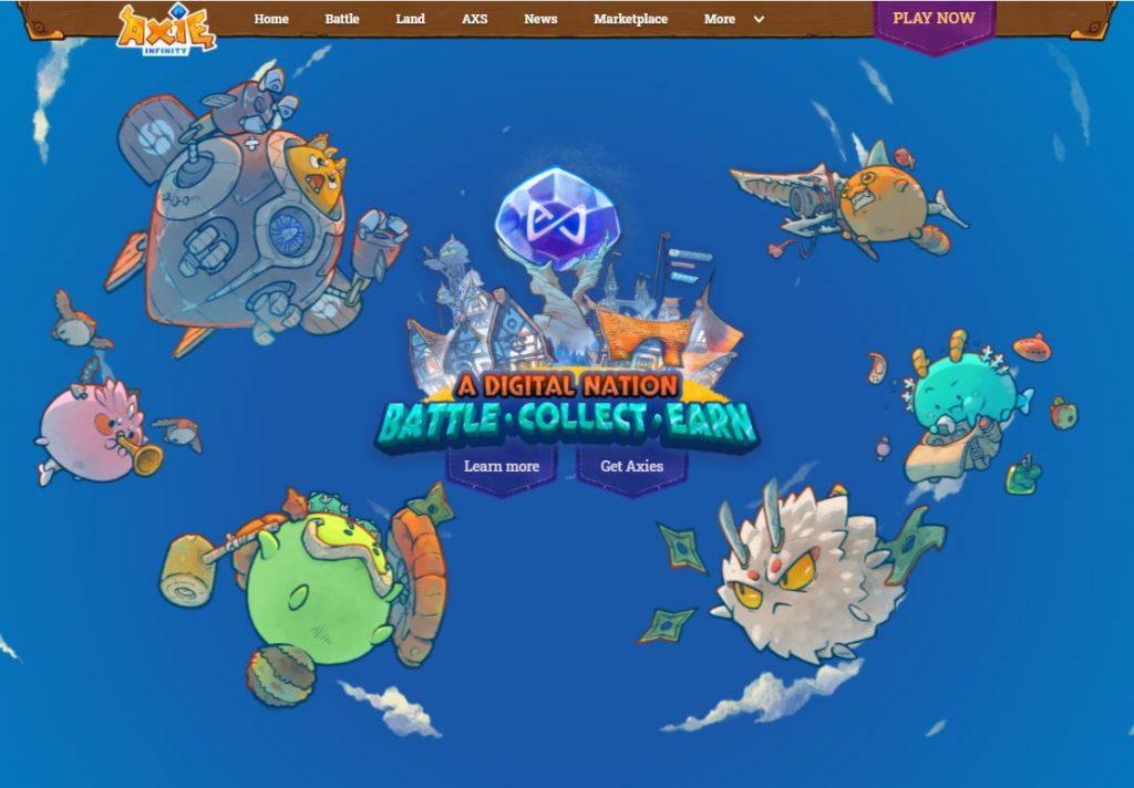 Axie Infinity game - fiber internet - streamtech