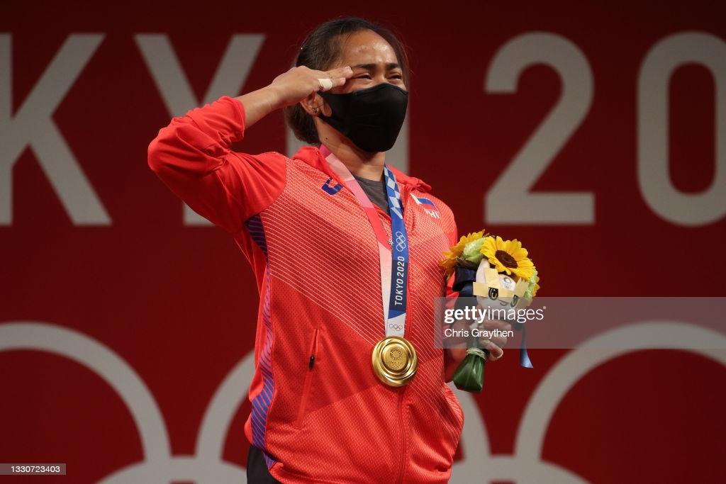 Hidilyn Diaz a gold medalist - fiber internet - streamtech