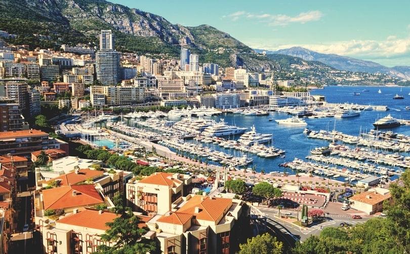 Monaco - countries with fastest internet - fiber internet - streamtech