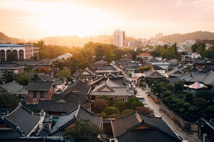 South korea - countries with fastest internet - streamtech fiber internet