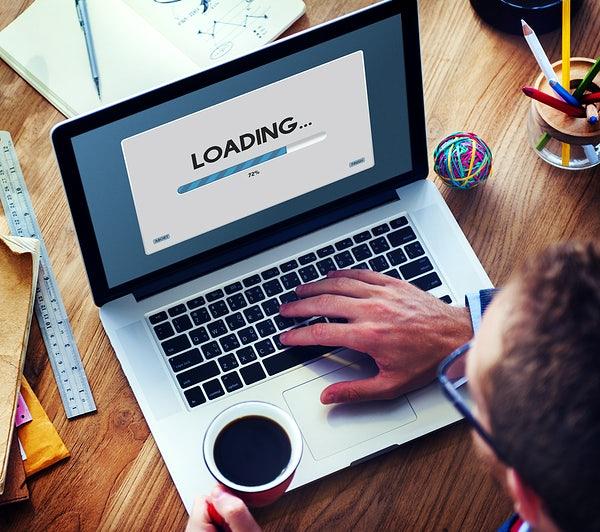 slow internet loading - fiber internet - streamtech