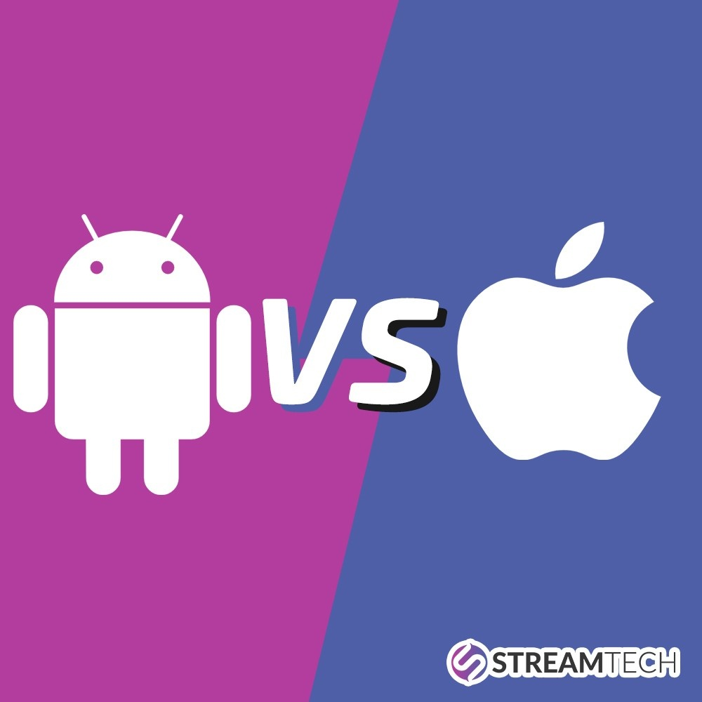 Android vs Ios by Streamtech Fiber Internet
