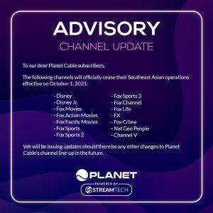 Planet Cable Channel Update - Streamtech Fiber Internet